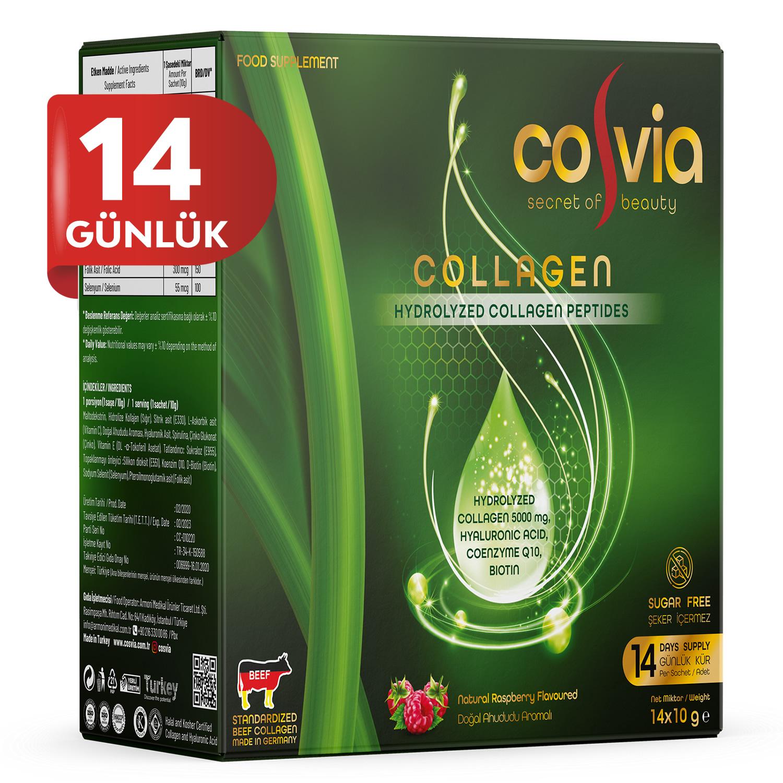 Cosvia Collagen Hidrolize Peptid 1 Pk. 14 Saşe (Deneme Boyu)